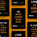 Birralala: Publicidad. Un proyecto de Publicidad, Br, ing e Identidad, Diseño gráfico, Packaging, Cop, writing, Naming y Diseño de carteles de Bel Llull - 24.01.2020