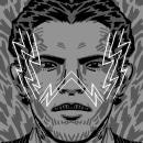 ABC da Ditadura - Letras. Un proyecto de Ilustración, Tipografía, Ilustración digital, Ilustración de retrato y Lettering digital de Gustavo Berocan - 07.04.2019