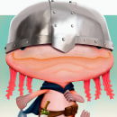 Axolotl Adventurer. A Illustration, Character Design, Digital illustration, Concept Art, and Children's Illustration project by Juan Carlos Stella Orduz - 12.26.2019