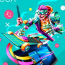 Reto Lenovo/Bacánika. Un proyecto de Ilustración, Dirección de arte, Ilustración digital y Diseño digital de Edgar Rozo - 10.03.2020