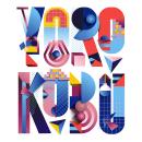 Type Illustration for Yorokobu. Un proyecto de Ilustración digital y Lettering digital de Birgit Palma - 12.12.2017