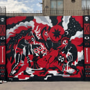 Mural: Fraternidad. A Urban Art und Illustration project by Tomas Ives - 10.03.2020