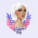 Women's Day . Un proyecto de Ilustración de retrato de Sandra Casado Díaz - 08.03.2020