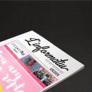Revista L'informatiu nº 95 — Diseño Editorial. Un proyecto de Diseño, Br, ing e Identidad, Diseño editorial y Diseño gráfico de Valeria Gemelli - 14.05.2017