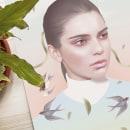 Kendall. A Illustration, Advertising, Art Direction, Editorial Design, Digital illustration, Portrait illustration, and Portrait Drawing project by Sara Vera Lecaro - 03.22.2020