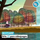 Bootcamp en Arte 2D para videojuegos. Um projeto de Ilustração, Direção de arte, Design de personagens, Ilustração digital, Concept Art e Desenho artístico de Roger @ Level Up (Game Dev Hub) - 22.03.2020