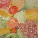 Mi Proyecto del curso: Técnicas modernas de acuarela - Frutas. Um projeto de Pintura em aquarela de Ruth Medina Barrientos - 23.03.2020