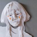 Retratos 3D com camadas de papel. Um projeto de Design, Ilustração, 3D, Artesanato, Artes plásticas, Colagem, Papercraft, Desenho, Ilustração de retrato, Decoração de interiores e 3D Design de Jessica Siqueira - 24.03.2020