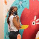 Mi Proyecto del curso: Urban art: de la ilustración digital al mural de gran escala @tintasrojas. Um projeto de Ilustração de Stephanie Rojas - 26.03.2020