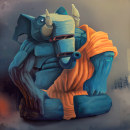 Mi Proyecto del curso: Pintura digital de personajes: ilustra con luz y color. A Character Design, Digital illustration, Digital Drawing, and Digital Painting project by Javi Palacios - 03.26.2020