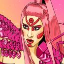 Fanart: Lady Gaga. Un proyecto de Diseño, Ilustración, Diseño gráfico, Creatividad, Dibujo, Ilustración digital y Dibujo digital de Irene Moya López - 27.03.2020