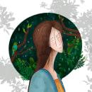 Bajo la lluvia. Un proyecto de Dibujo digital de Montserrat Espaillat - 27.03.2020
