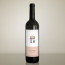 Etiqueta de vino para boda. A Illustration project by Guillermo García - 03.31.2020