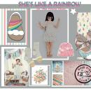 SHE'S LIKE A RAINBOW. Un proyecto de Diseño de calzado de Ana Pericás Brines - 31.03.2020