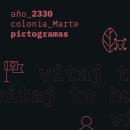 Marte_2330_Pictogramas. Un proyecto de Ilustración, Diseño gráfico, Diseño de pictogramas y Diseño digital de Joel Miralles Meneses - 02.04.2020