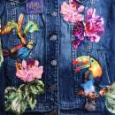 Bird's Garden . Um projeto de Design, Artesanato, Moda, Artes plásticas, Design de moda e Bordado de Ana María Restrepo - 04.04.2020