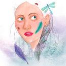 Mi Proyecto del curso: Retrato ilustrado en acuarela 1. Um projeto de Desenho de Retrato, Ilustração de retrato e Pintura em aquarela de esmolkac - 05.04.2020