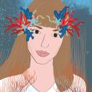 Mi Proyecto del curso: Filtros ilustrados para Facebook e Instagram Stories - CoralCrown. A Graphic Design project by María Díaz Delgado - 04.06.2020