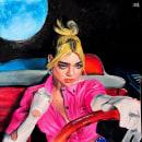 Future Nostalgia. Un progetto di Illustrazione, Illustrazione di ritratto , e Disegno di ritratto di Luis Acevedo - 06.04.2020