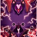 Raven. Um projeto de Ilustração, Ilustração vetorial e Ilustração digital de Esteban Ruiz - 07.04.2020