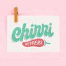 Chirri Peppers Logo redisign. A Br, ing, Identit, Lettering, Logo Design, H, and Lettering project by Caro Marando - 04.07.2020