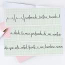 Cuando tu corazón hable de vos, que hable bien. A T, pograph, design, and Lettering project by Caro Marando - 04.07.2020