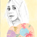 Mi Proyecto del curso: Retrato con lápiz, técnicas de color y Photoshop. Um projeto de Ilustração de Lidia Torrubiano - 11.04.2020