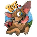Pets <3. A Design, Illustration, Character Design, Graphic Design, Creativit, Pencil drawing, Drawing, Digital illustration, Artistic drawing, and Digital Drawing project by Andrés Forero - 04.11.2020