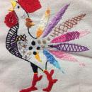 Mi Proyecto del curso: Técnicas de bordado: ilustrando con hilo y aguja. Um projeto de Bordado de Azalea Haydée Balderas Ramos - 12.04.2020
