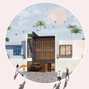 representacion post-digital. Um projeto de Arquitetura, Arquitetura digital e Colagem de joel balderas - 13.04.2020