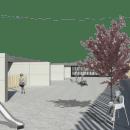 Proyecto para Escuela Infantil en Orriols (Valencia - España). Un proyecto de Diseño, 3D y Arquitectura de Almudena Alarcon Ruiz - 01.12.2018