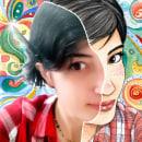 Toon me challenge. Um projeto de Ilustração, Design de personagens, Artesanato, Artes plásticas, Pintura, Colagem, Comic, Social Media, Criatividade, Desenho a lápis, Desenho, Pintura em aquarela, Ilustração de retrato, Desenho de Retrato, Desenho artístico, Ilustração infantil e Instagram de Cristina Aguilera - 13.04.2020