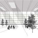 Proyecto para Escuela de Idiomas en Orriols (Valencia - España). Un proyecto de Diseño, 3D, Arquitectura y Collage de Almudena Alarcon Ruiz - 01.05.2019