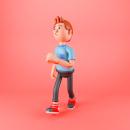 Mi Proyecto del curso: Diseño de personajes 3D en movimiento. Un progetto di 3D , e Animazione 3D di Eduardo Fajardo - 14.04.2020
