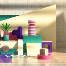 Mi Proyecto del curso: Composiciones abstractas con Cinema 4D. Un proyecto de 3D de Ale Magallón - 15.04.2020
