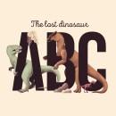 The Lost Dinosaur Alphabet. Un projet de Illustration, Design graphique, Conception d'affiche, Illustration numérique et Illustration jeunesse de Pablo Fernández Tejón - 16.04.2020
