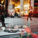 Fotos de rodaje del curso de Alex Hillkurtz. A Painting, Drawing, Portrait photograph, Watercolor Painting, and Studio Photograph project by Irene Serrat Roura - 04.17.2020