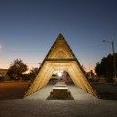 Pabellón Cultural Migrante . Un proyecto de Diseño, Arquitectura, Diseño de muebles, Diseño industrial, DIY y Carpintería de Daniel Romero / Tuux - 18.04.2016