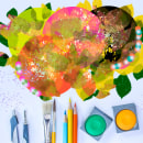 Probando la tableta gráfica - primera vez. Un proyecto de Brush painting de maitepresencia - 19.04.2020