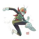 Kamen Rider. Um projeto de Ilustração de KIKE J. DÍAZ - 20.04.2020