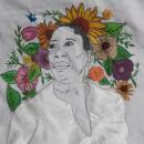 Mi Proyecto del curso: Creación de retratos bordados. Un proyecto de Bordado de Dhayana De La Rosa - 22.04.2020
