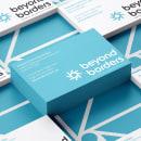 Logotipo para Beyond Borders. Um projeto de Br, ing e Identidade, Design gráfico e Design de logotipo de Jacobo Philippot - 23.04.2020