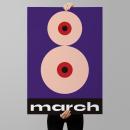 8th March. Un proyecto de Diseño de carteles e Ilustración digital de Chavo Roldán - 24.04.2020