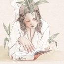 ilustración día del libro. Um projeto de Ilustração de Amalia Torres - 23.04.2020