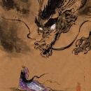 Dragões. Un projet de Dessin artistique , et Brush painting de Mika Takahashi - 24.04.2020