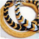 Mi Proyecto del curso: Creación de joyería textil. Um projeto de Criatividade e Design de joias de Martha Zambrano J - 25.04.2020