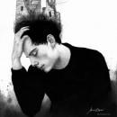 Crown in ruins. A Illustration, Bildende Künste, Bleistiftzeichnung, Zeichnung, Aquarellmalerei, Porträtillustration, Stickerei, Porträtzeichnung, Realistische Zeichnung und Artistische Zeichnung project by María Calderón Vázquez - 26.04.2020