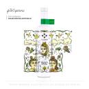 Botella de artista - Pisco Cuatro Gallos. Um projeto de Desenho artístico, Design gráfico e Ilustração digital de Fito Espinosa - 14.06.2018