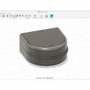 Mi Proyecto del curso: Caja para guardar/transportar ortodoncias. Un proyecto de Diseño 3D de George Zuckerberg - 25.04.2020