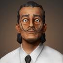 Mi Proyecto del curso: Modelado de personajes en 3D - Salvador Dali. Un proyecto de Modelado 3D de João Lázaro - 27.04.2020